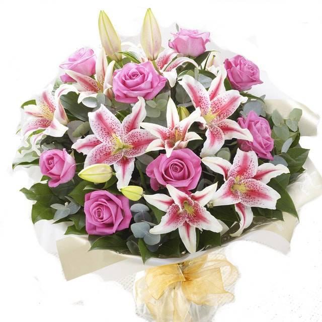 красивые букеты лилий с днем рождения самом деле